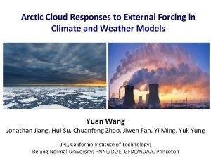 Arctic Cloud Responses to External Forcing in Climate