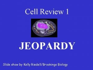 Cell Review 1 JEOPARDY Slide show by Kelly