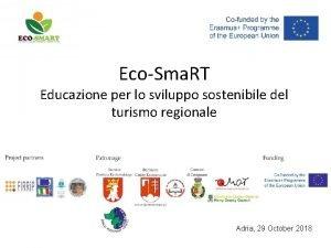 EcoSma RT Educazione per lo sviluppo sostenibile del