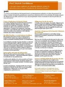 Los Trusts y las Fundaciones de Inters Privado