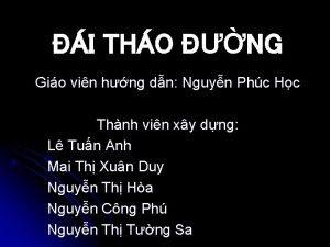 I THO NG Gio vin hng dn Nguyn