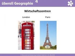 4 Wirtschaftszentren London Paris sterreichischer Bundesverlag Schulbuch Gmb