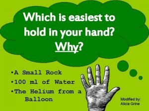 Which is easiest to hold in your hand
