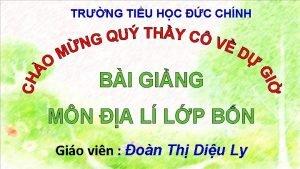 TRNG TIU HC C CHNH BI GING MN