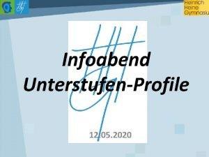 Infoabend UnterstufenProfile 12 05 2020 Praktische Musikstunde Praktische