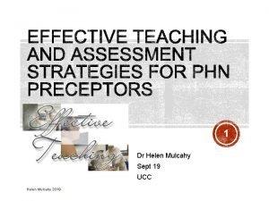 1 Dr Helen Mulcahy Sept 19 UCC Helen