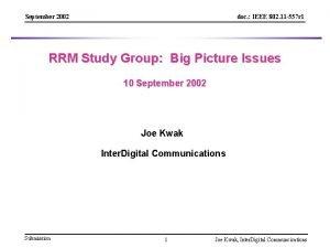 September 2002 doc IEEE 802 11 557 r