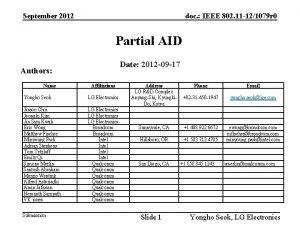 September 2012 doc IEEE 802 11 121079 r