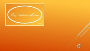 Day Crations rflexives 2014 Lintolrance a crit le