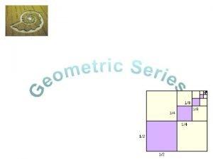 Geometric Series KUS objectives BAT you need to