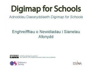 Adnoddau Daearyddiaeth Digimap for Schools Enghreifftiau o Newidiadau