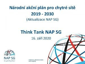 Nrodn akn pln pro chytr st 2019 2030