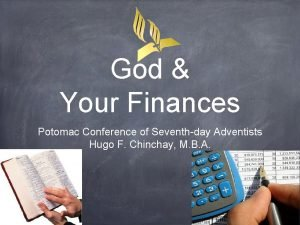 God Your Finances Potomac Conference of Seventhday Adventists