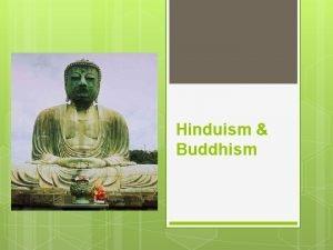Hinduism Buddhism Hinduism Origins Originates in India from