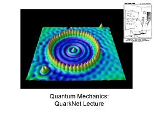 Quantum Mechanics Quark Net Lecture Blackbody Idealized physical