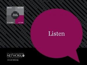 Listen www commatters org Listen Communicating is an