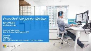 What are Microsoft Tech Talks Microsoft Tech Talks