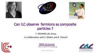 Can ILC observe fermions as composite particles F