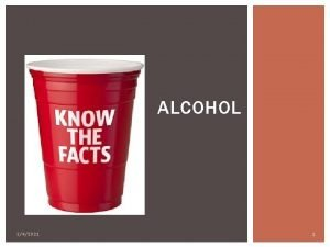 ALCOHOL 342021 1 THINKPAIRSHARE Why do people drink