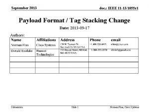 September 2013 doc IEEE 11 131055 r 1