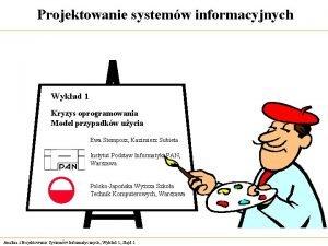 Projektowanie systemw informacyjnych Wykad 1 Kryzys oprogramowania Model