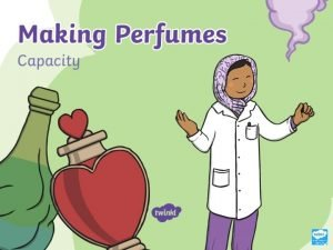 Pick the Perfume The Perfumers need help finding
