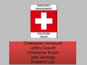 Christopher Honeycutt Jeffrey Gravett Christopher Brown John Jennings