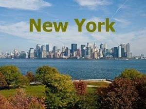 New York New York City is a city