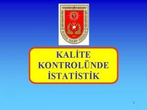 KALTE KONTROLNDE STATSTK 1 KALTE KONTROLNDE STATSTK TAKDM