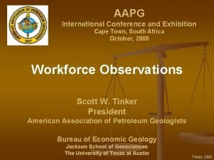 AAPG International Conference and Exhibition Cape Town South