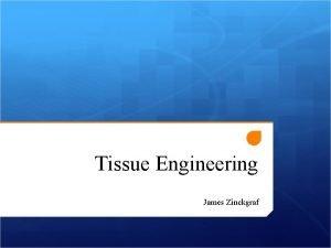 Tissue Engineering James Zinckgraf What is Tissue Engineering