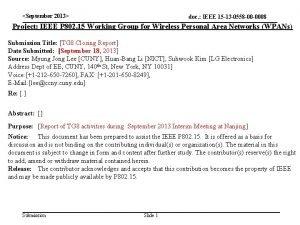 September 2013 doc IEEE 15 13 0558 00