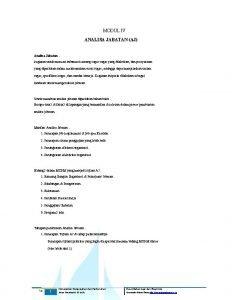 MODUL IV ANALISA JABATAN AJ Analisa Jabatan kegiatan