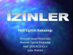 Mill Eitim Bakanl Personel Genel Mdrl Mevzuat Dairesi