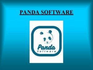 PANDA SOFTWARE SARRERA 1990 Bilbo Birus informatikoei aurre