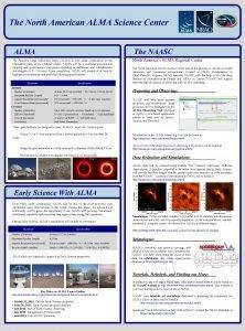 The North American ALMA Science Center ALMA The