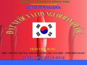 TRN VIT HNG HIU TRNG TRNG THTHCS NG