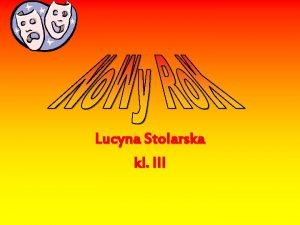 Lucyna Stolarska kl III Nowy Rok jest witowany