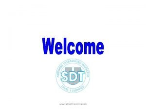 Introduction www sdtnorthamerica com What is Ultrasound ultrasound