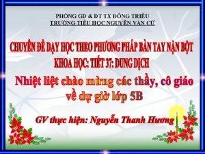 PHNG GD T TX NG TRIU TRNG TIU