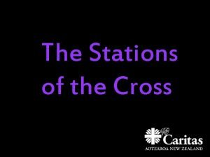 The Stations of the Cross 1 Jesus is
