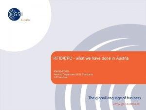 Austria RFIDEPC what we have done in Austria