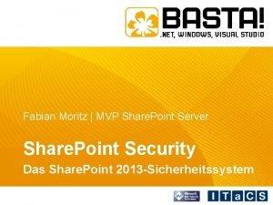 Fabian Moritz MVP Share Point Server Share Point