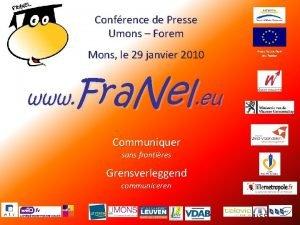 Confrence de Presse Umons Forem Mons le 29