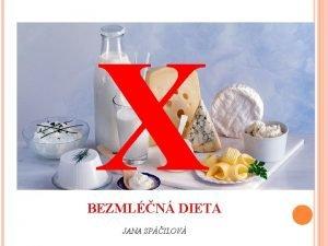 X BEZMLN DIETA JANA SPILOV BEZMLN DIETA Pro