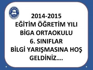 2014 2015 ETM RETM YILI BGA ORTAOKULU 6