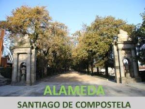 ALAMEDA SANTIAGO DE COMPOSTELA O Parque da Alameda