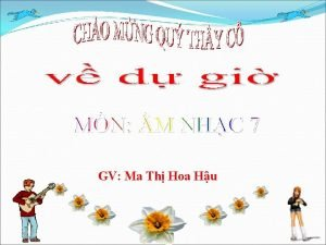 GV Ma Th Hoa Hu S tn khc