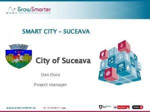 SMART CITY SUCEAVA City of Suceava Dan Dura