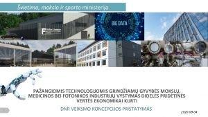 vietimo mokslo ir sporto ministerija PAANGIOMIS TECHNOLOGIJOMIS GRINDIAM